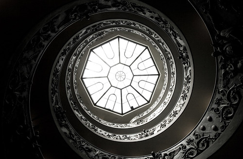 Up the Spiral Steps