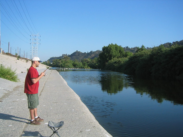 Los angeles river fishing in atwater village 35 flickr for Fishing in los angeles