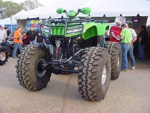Jacked Up 4 Wheelers
