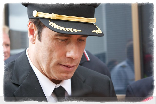 John Travolta @ Qantas Open Day