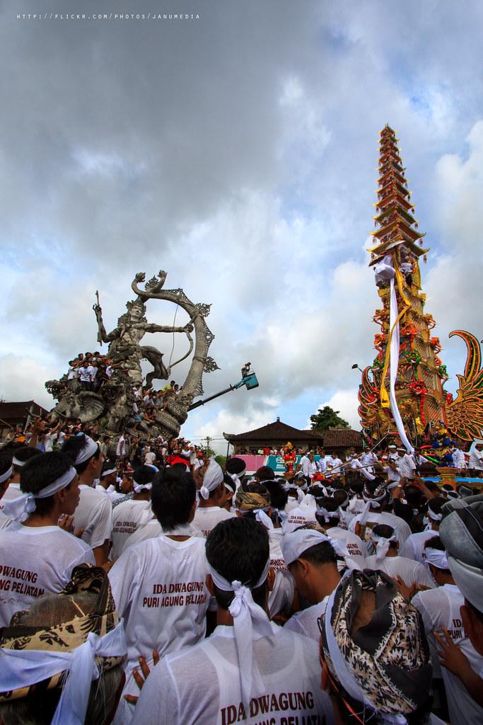 bali image : Royal Cremation of Ida Dwagung, King of Puri Agung Peliatan IX, Ubud