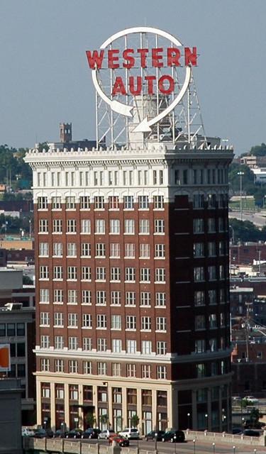 Western Auto Sign Kansas City Missouri Flickr Photo