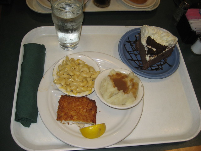 Luby 39 s lunch today flickr photo sharing for Lubys fried fish