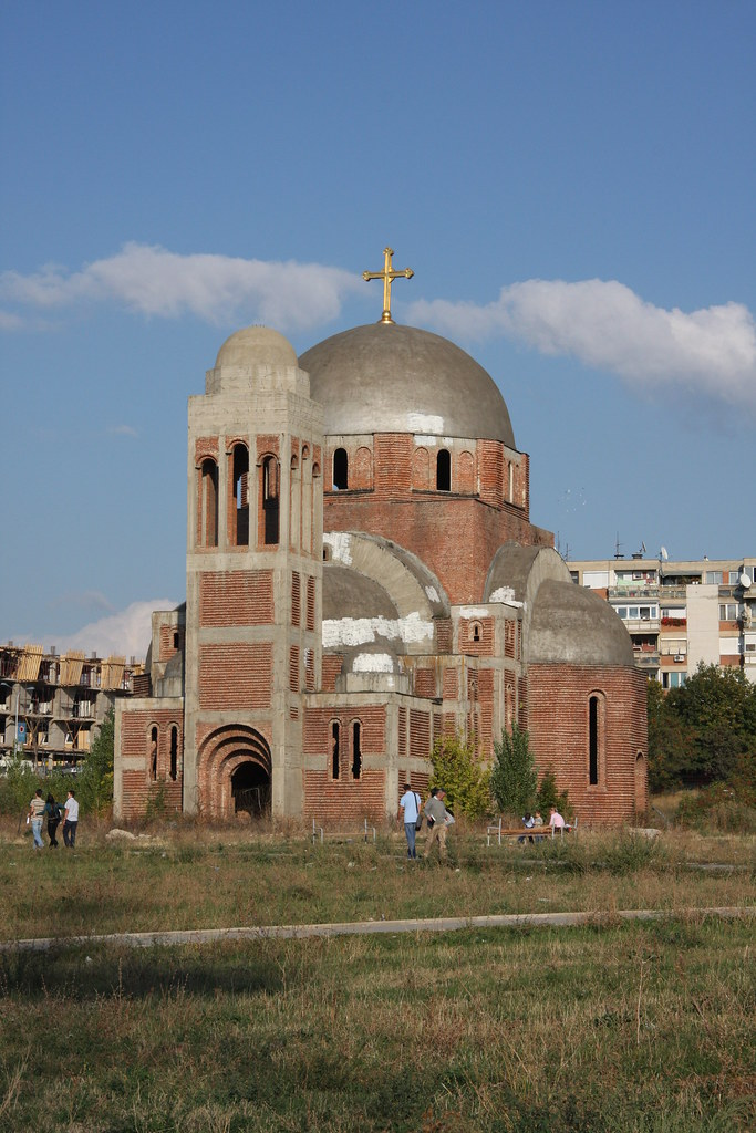 Pristina church photo