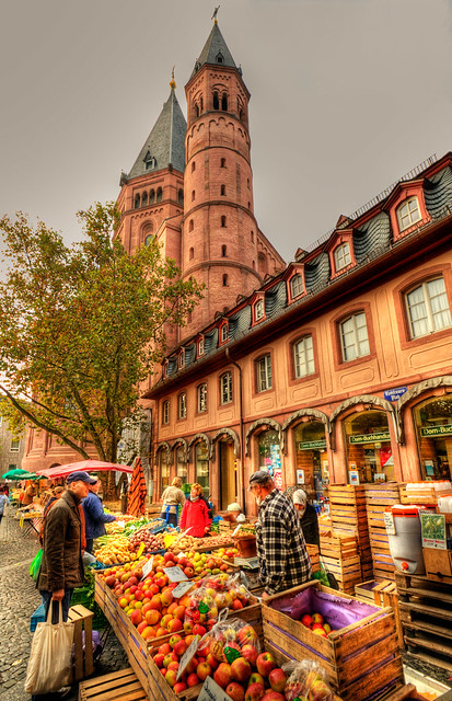 saturday market in mainz flickr photo sharing. Black Bedroom Furniture Sets. Home Design Ideas