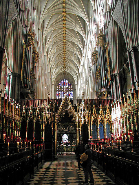 Interior of Westminster Abbey | The Westminster Abbey ...