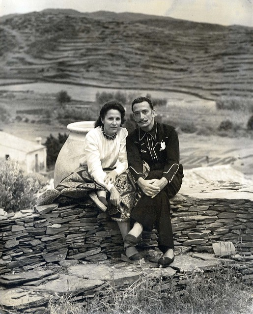 Gala i Salvador Dalí a Portlligat