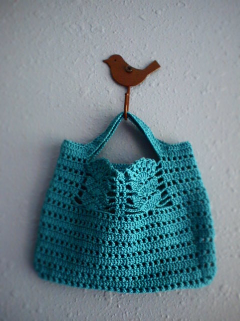 Japanese Crochet Bag : Crochet Bag no.2 I used a pattern from a Japanese crochet ...