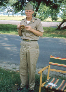 Roger at Fort Dix