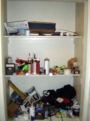 The Old Disorganized Closet