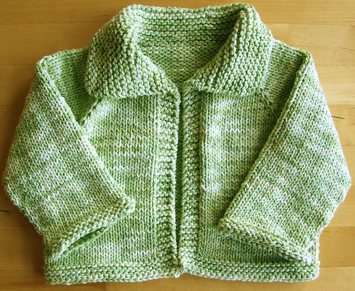 Easy Knitting Pattern For Babies Cardigan : Easy baby sweater patterns « free