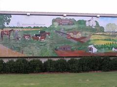 Burlington History Mural
