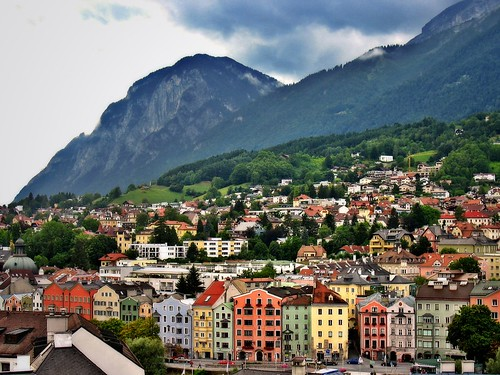 city travel houses mountain alps tower austria colorful europe village view tourist alpine oldtown tyrol innsbruck supershot stadtturm citytower 25faves abigfave anawesomeshot colorphotoaward impressedbeauty aplusphoto ultimateshot superbmasterpiece travelerphotos superhearts flickrelite