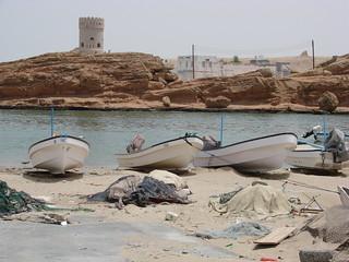 Fishing Boats, Oman