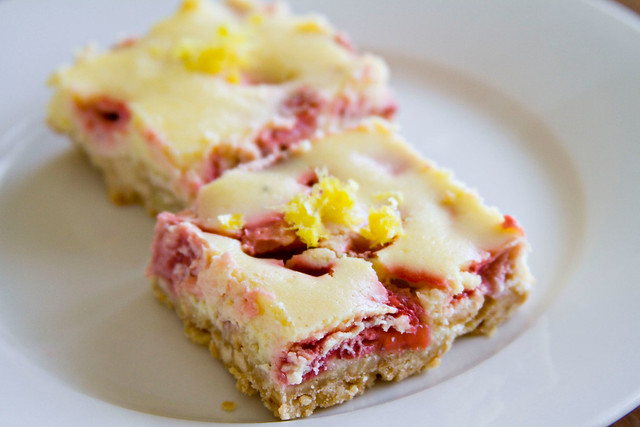 Strawberry-Lemon Cheesecake Squares - 3 | Flickr - Photo Sharing!
