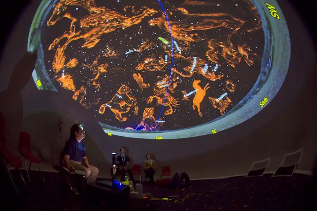 telus world of science mobile planetarium 2 flickr