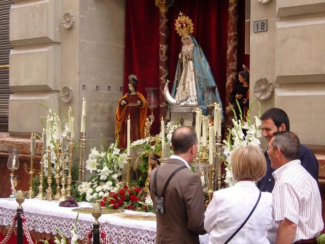 Street Altar 1 Corpus Christi Murcia Flickr Photo Sharing