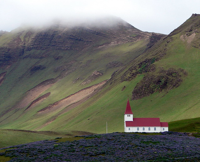 An Icelandic country church