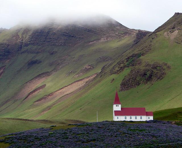 An Icelandic country church