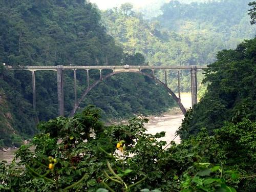 bridge india geotagged asia darjeeling subcontinent coronationbridge carpefeline queenvictory geo:lat=2657379 geo:lon=88764038