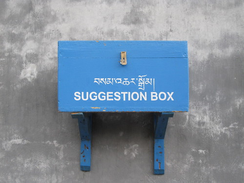"the literal translation is ""thoughts box"""