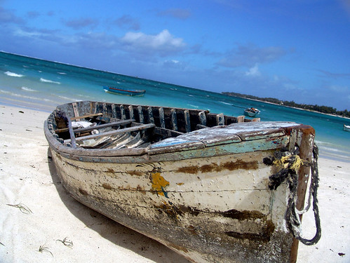 What to do in Mauritius - try going on a trip on the local boats