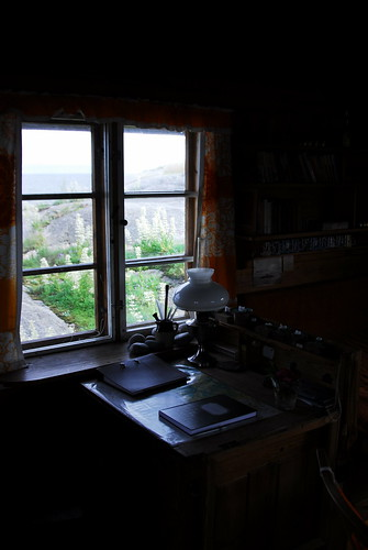 The writing desk