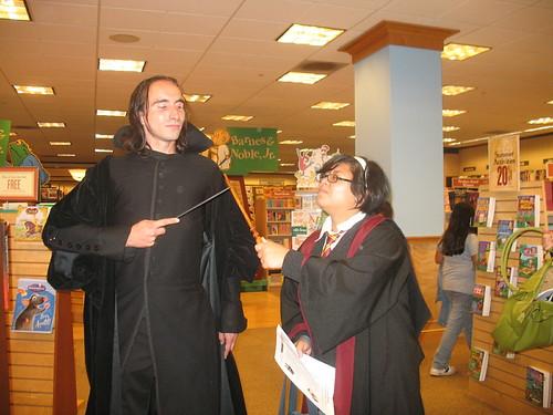 Professor Snape from Harry Potter