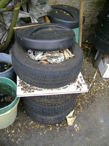 Tyre Wormery