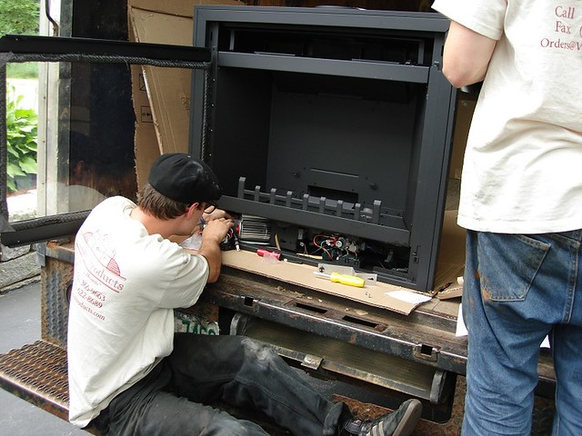 Gas Fireplace Blower Flickr Photo Sharing