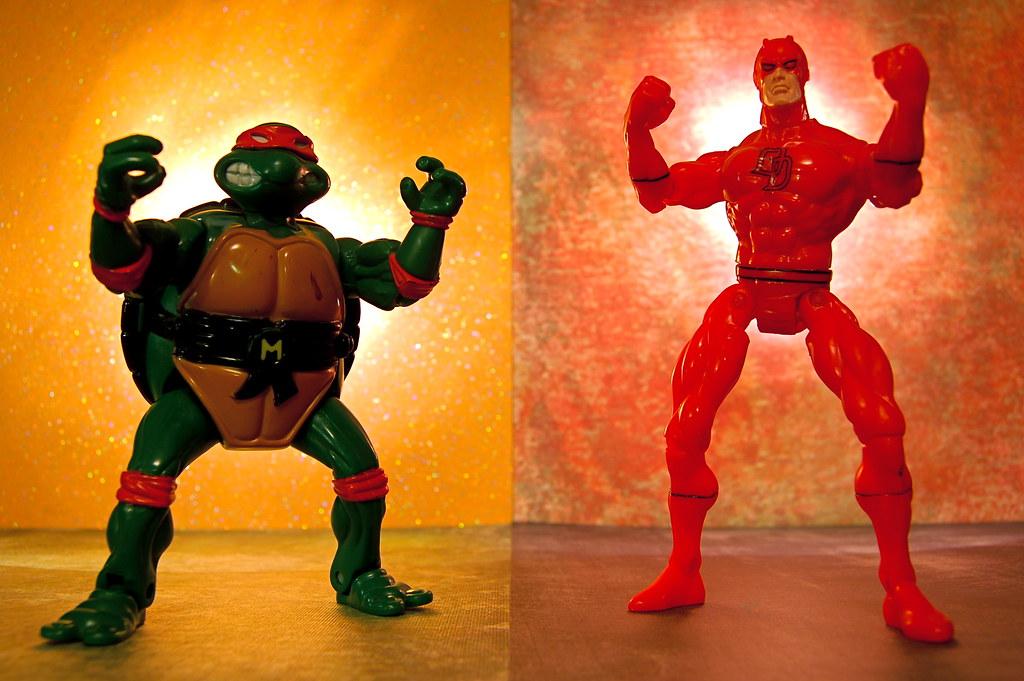 Michelangelo vs. Daredevil (298/365)