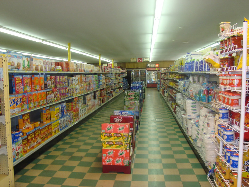Aisle Five (Cereals, Housewares)