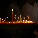 Candles at Svetitskhoveli Cathedral - Mtskheta, Georgia