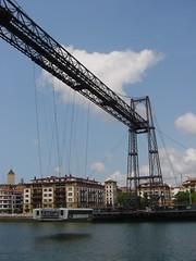 vehicle, transport, transporter bridge, waterway,