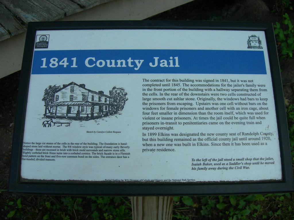 Randolph County Jail Sign   Beverly, West Virginia   Flickr