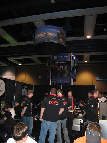 The Guild Wars Booth at PAX