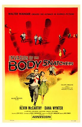 """Invasion of the Body Snatchers"" poster"