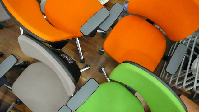 Colourful Chairs For Living Room