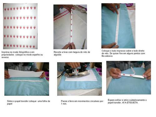 PAP ETIQUETAS COM PAPEL TRANSFER by Cheio de Graça Atelier