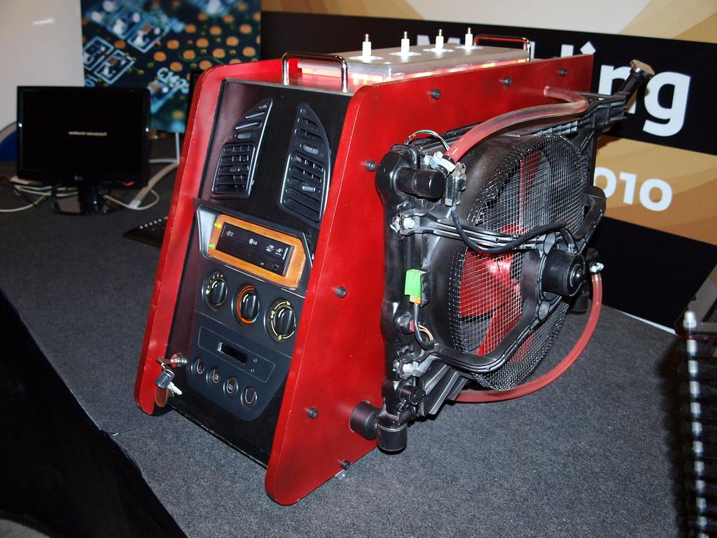 computer case airflow