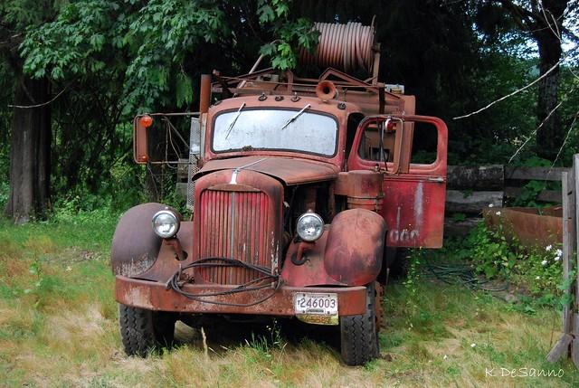 Old Mack Fire Trucks : Old mack fire truck flickr photo sharing
