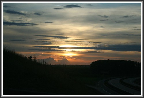 sunset nature landscape ilovenature autobahn teliko
