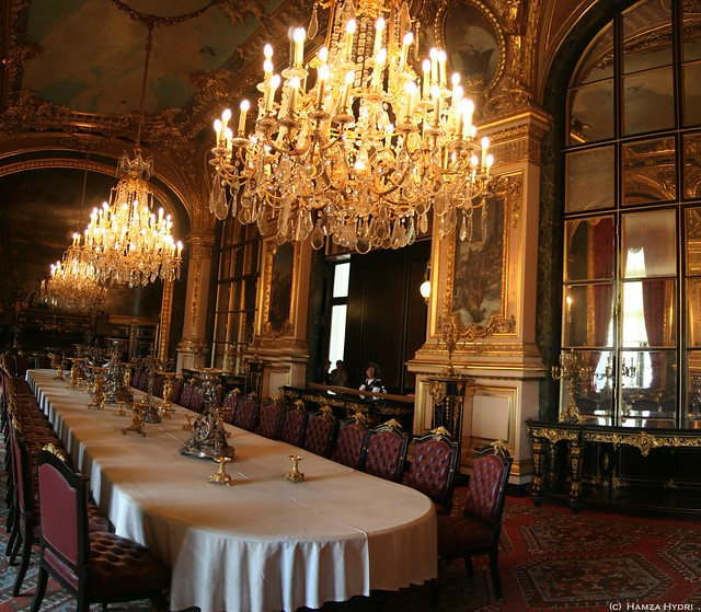 Anime Royal Dining Room: The Royal Dining Room, Napoleans Rooms, Louvre, Paris
