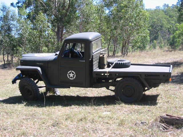 1958 Willys Jeep Wagon http://www.flickr.com/photos/12653915@N08/1310012544/