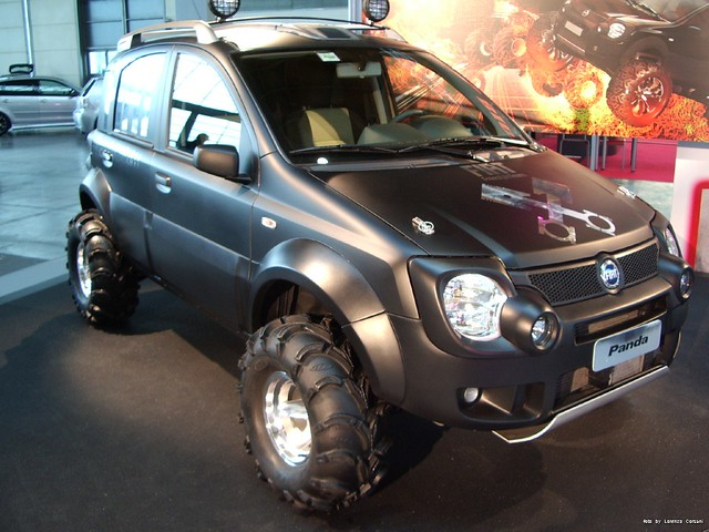 technical fiat panda 4x4 big foot info the fiat forum. Black Bedroom Furniture Sets. Home Design Ideas