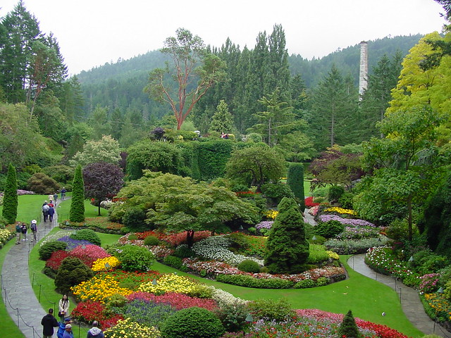 Butchart gardens flickr photo sharing - What time does victoria gardens close ...