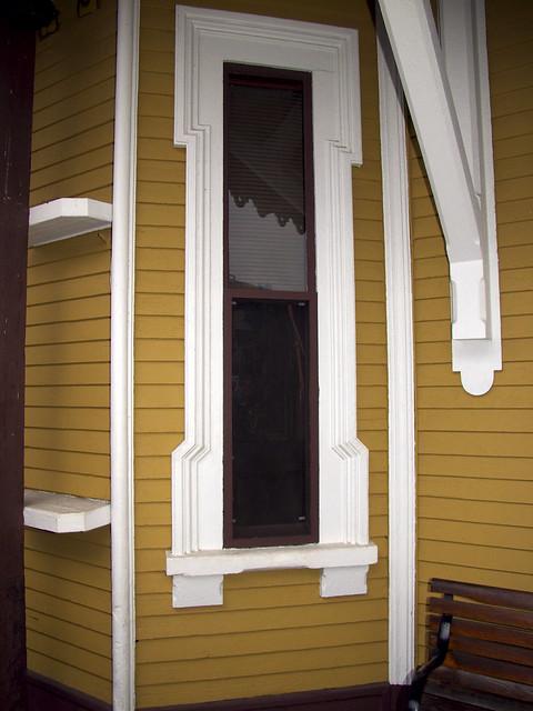 Narrow window trim detail flickr photo sharing for Narrow window