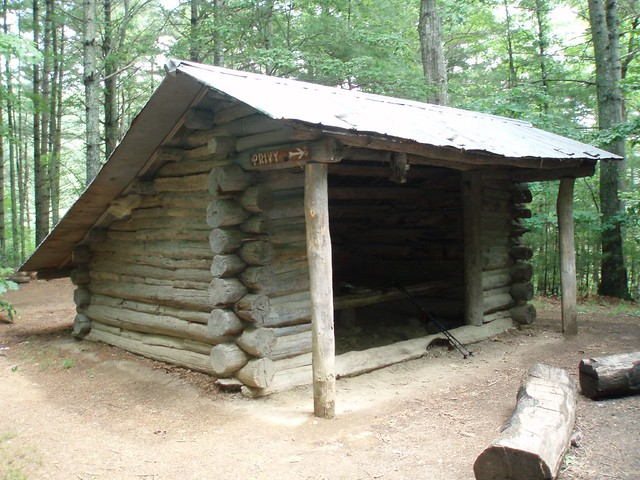 All deer lick shelter on appalachian trail remarkable
