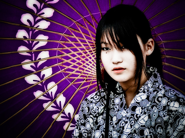 Purple Parasol Bride  Formal - Walla Walla