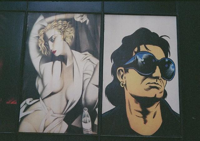 Madonna / Bono